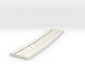 P-165stp-long-curved-y-tram-track-100-pl-3a in White Strong & Flexible