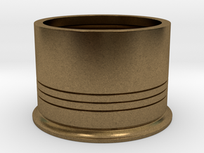 Shotshotglass Base in Raw Bronze