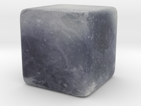 Cube (Dwarf) Planet : Pluto, 1 inch in Full Color Sandstone
