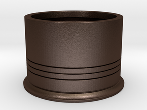 Shotshotglass Base in Matte Bronze Steel