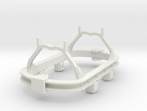 1:35 scale 16.5mm gauge skip chassis in White Strong & Flexible