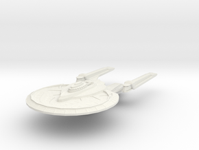 Yamato Class Cruiser in White Strong & Flexible