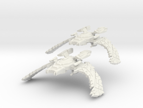 Two BIG Scimitar in White Strong & Flexible