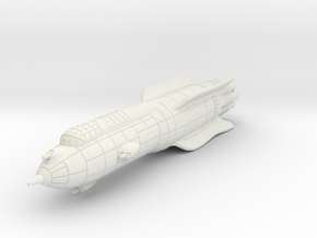 Terran Battle Rocket Acheron in White Strong & Flexible
