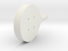 DSLR_pitch_motor_outer in White Strong & Flexible