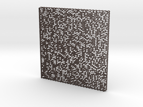 Maze 3D in Stainless Steel