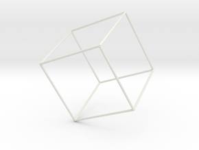Cubo in White Strong & Flexible