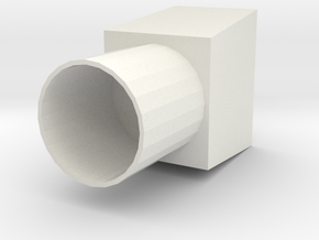 Air Duct R2 in White Strong & Flexible
