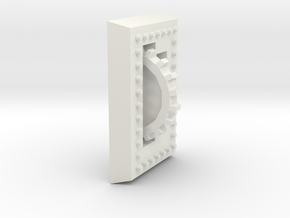 Bolted Plate in White Strong & Flexible