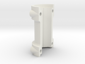 Climax F417 Split Axle Spacer - 1-8th Scale in White Strong & Flexible