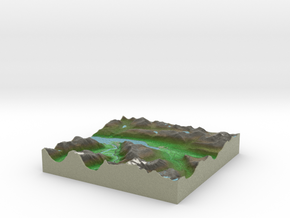 Terrafab generated model Wed Jul 09 2014 21:11:50  in Full Color Sandstone