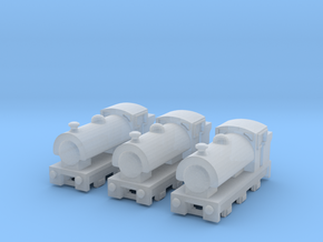 T-gauge Saddle Tank Engines - Uses Eishindo Wheels in Frosted Ultra Detail