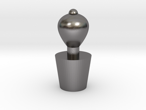 Stopper2 in Polished Nickel Steel