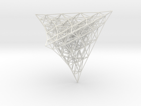 Projection of 4D lattice in White Strong & Flexible