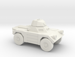 1:200 Daimler FERRET in White Strong & Flexible