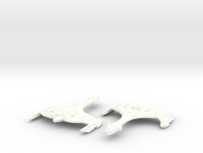 Korva Class Interceptor Modified in White Strong & Flexible Polished
