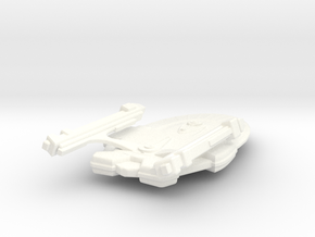 USS Vigilant (Refit) in White Strong & Flexible Polished
