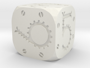 Tinker Die D6 Solid in White Strong & Flexible