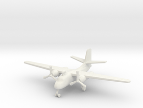 1/285 (6mm) S-2 Tracker  in White Strong & Flexible