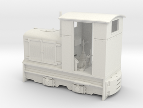 Feldbahn Gmeinder 20/24 (Spur 1f) 1:32 in White Strong & Flexible