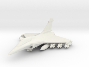 1/285 (6mm) Rafale  w/Ordnance in White Strong & Flexible