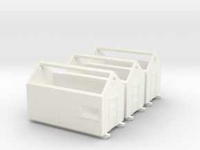 N logging - Storage Sheds in White Strong & Flexible Polished