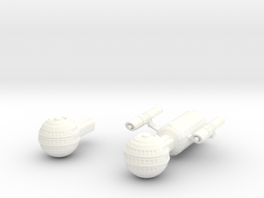 Daedalus Class in White Strong & Flexible Polished