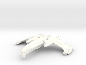 Tajear Class Destroyer in White Strong & Flexible Polished
