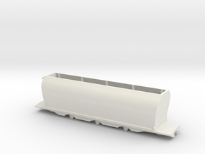 CE Coal Wagon, New Zealand, (S Scale, 1:64) in White Strong & Flexible
