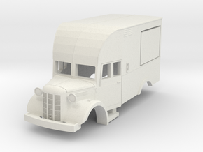 Austin K2 canteen. scale 1:87 in White Strong & Flexible