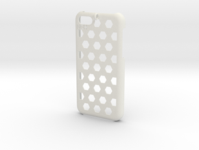 Honey Comb 5C in White Strong & Flexible