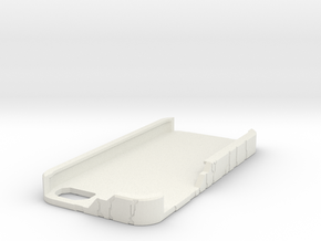 Iphone 5 Halo Case in White Strong & Flexible