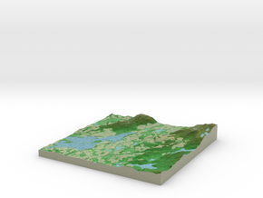 Terrafab generated model Wed Oct 09 2013 11:53:10  in Full Color Sandstone