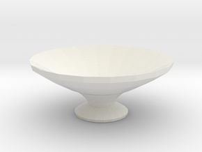 water orniment/ bird bath in White Strong & Flexible