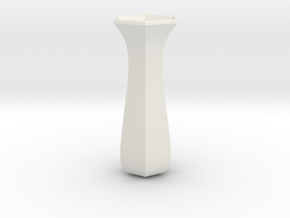 rose  vase in White Strong & Flexible