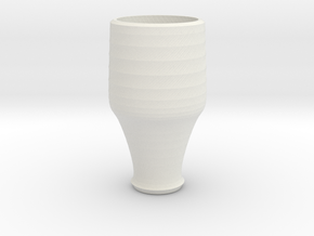 blue cap cup 1 in White Strong & Flexible