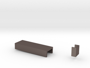 the prim Coffee table and end table on side in Stainless Steel