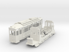TW 51 Thueringer Waldbahn in White Strong & Flexible