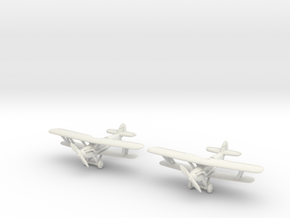 Hawker Audax (two airplanes set) 1/285 6mm in White Strong & Flexible