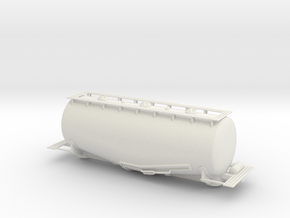 WhaleBelly Tank Car - Sscale in White Strong & Flexible