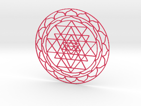 Yantra2 in Pink Strong & Flexible Polished