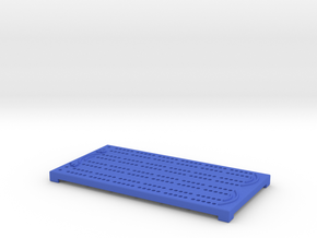 Small Cribbage Board in Blue Strong & Flexible Polished