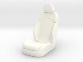 1 12 Luxury Bucket Seat in White Strong & Flexible Polished