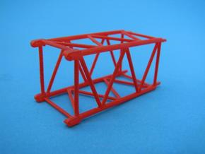 HO/1:87 Crane boom segment short 17x17 in Frosted Ultra Detail