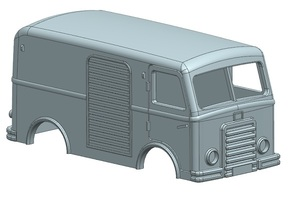 DAF A10 Side Loader in Frosted Ultra Detail