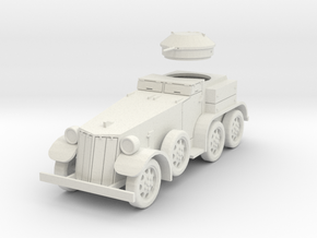 PV39A T4 (M1) Armored Car (28mm) in White Strong & Flexible