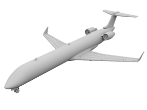 1:200 - CRJ 1000 (XL) in Frosted Ultra Detail