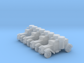 6mm Austin armored car (3rd series) x4 in Frosted Ultra Detail
