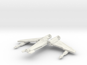 Liberator Fighter 1/135 in White Strong & Flexible