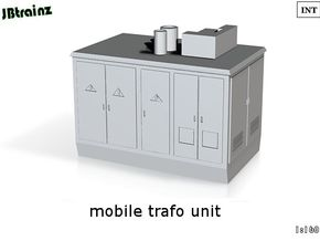 Mobile Trafo (1:160) in White Strong & Flexible Polished